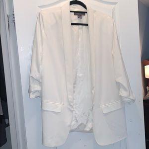 Suzy Shier White Blazer